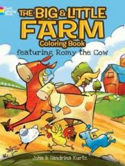 The Big and Little Farm Coloring Book 1st Edition 9780486783413 0486783413