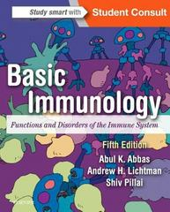 Basic Immunology 5th Edition 9780323390828 032339082X