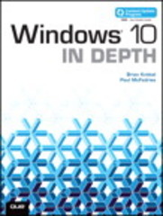 Windows 10 In Depth (includes Content Update Program) 1st Edition 9780789754745 0789754746