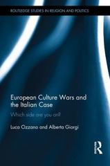 European Culture Wars and the Italian Case 1st Edition 9781317365488 1317365488