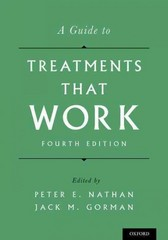 A Guide to Treatments That Work 4th Edition 9780199342228 0199342229