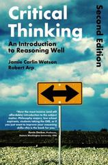 Critical Thinking 2nd Edition 9781472595676 147259567X