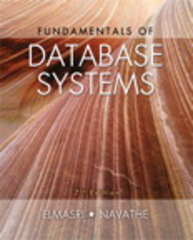 Fundamentals of Database Systems 7th Edition 9780133970777 0133970779