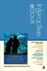 Cognitive Psychology Interactive eBook 1st Edition 9781483394107 1483394107
