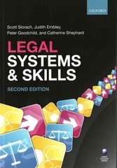 Legal Systems & Skills 2nd Edition 9780198727453 0198727453