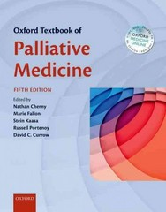 Oxford Textbook of Palliative Medicine 5th Edition 9780199656097 0199656096