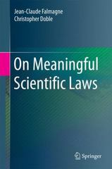 On Meaningful Scientific Laws 1st Edition 9783662460979 3662460971