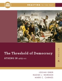 The Threshold Of Democracy 4th Edition 9780393938876 0393938875