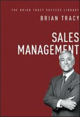 Sales Management (the Brian Tracy Success Library) 1st Edition 9780814436295 0814436293