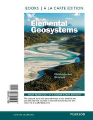 Elemental Geosystems, Books a la Carte Plus MasteringGeography with eText -- Access Card Package 8th Edition 9780321992796 0321992792