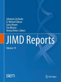 JIMD Reports, Volume 19 1st Edition 9783662461891 3662461897