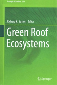 Green Roof Ecosystems 1st Edition 9783319149820 3319149822