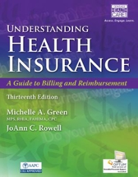 Understanding Health Insurance 13th Edition 9781305647428 1305647424
