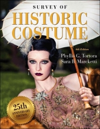 Survey of Historic Costume 6th Edition 9781501395253 1501395254