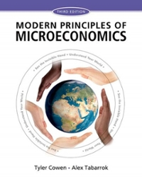 Modern Principles of Microeconomics 3rd Edition 9781429278416 1429278412