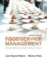 Foodservice Management 13th Edition 9780133762754 0133762750