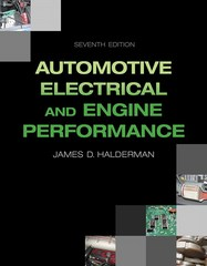 Automotive Electrical and Engine Performance 7th Edition 9780133866544 0133866548