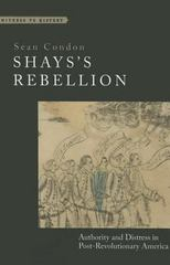 Shays's Rebellion 1st Edition 9781421417431 142141743X