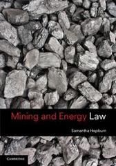 Mining and Energy Law 1st Edition 9781107663237 1107663237