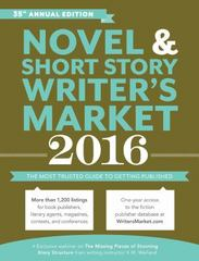 2016 Novel and Short Story Writer's Market 35th Edition 9781599639383 1599639386