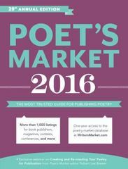 Poet's Market 2016 29th Edition 9781599639413 1599639416