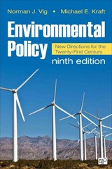 Environmental Policy 9th Edition 9781483352589 1483352587
