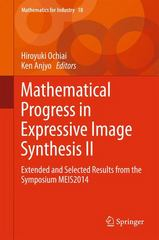 Mathematical Progress in Expressive Image Synthesis II 1st Edition 9784431554820 4431554823