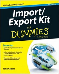 Import / Export Kit For Dummies 3rd Edition 9781119079675 1119079675