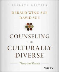 Counseling the Culturally Diverse 7th Edition 9781119084372 1119084377