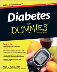 Diabetes For Dummies 5th Edition 9781119090724 1119090725