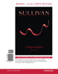 College Algebra, Books a la Carte Edition Plus NEW MyMathLab -- Access Card Package 10th Edition 9780134026695 0134026691
