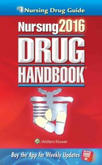 Nursing2016 Drug Handbook 36th Edition 9781469887043 1469887045