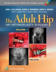 The Adult Hip (Two Volume Set) 3rd Edition 9781451183696 1451183690