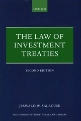 The Law of Investment Treaties 2nd Edition 9780191009143 0191009148