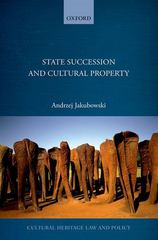 State Succession in Cultural Property 1st Edition 9780191057991 0191057991