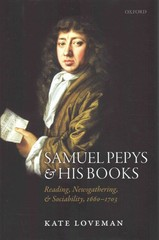 Samuel Pepys and his Books 1st Edition 9780198732686 0198732686