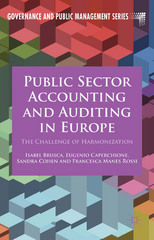 Public Sector Accounting and Auditing in Europe 1st Edition 9781137461346 1137461349