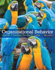Organizational Behavior and Self Assessment Library 3.4 16th Edition 9780133892574 0133892573