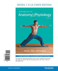 Fundamentals of Anatomy & Physiology, Books a la Carte Edition, Modified MasteringA&P with Pearson eText -- ValuePack Access Card, Martini's Atlas of the Human Body (ValuePack Version) and InterActive Physiology 10-System Suite CD-ROM Pk. 10th Edition 9780133977882 0133977889