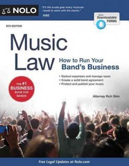 Music Law 8th Edition 9781413321906 1413321909