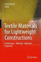 Textile Material for Lightweight Constructions 1st Edition 9783662463406 3662463407