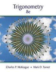 Trigonometry 8th Edition 9781305652224 1305652223