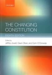 The Changing Constitution 8th Edition 9780198709824 019870982X