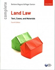 Complete Land Law 4th Edition 9780198725763 0198725760