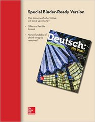 LOOSELEAF FOR DEUTSCH: NA KLAR AN INTRODUCTORY GERMAN COURSE (STUDENT EDITION) 6th edition 9780077527846 0077527844