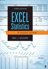 Excel Statistics 3rd Edition 9781483374048 1483374041
