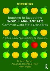Teaching to Exceed the English Language Arts Common Core State Standards 2nd Edition 9781138852006 1138852007