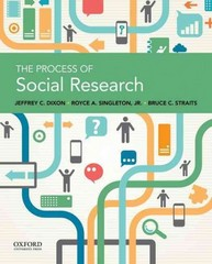 The Process of Social Research 1st Edition 9780190299101 019029910X