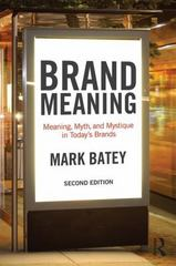 Brand Meaning 2nd Edition 9781138839427 1138839426