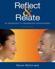 Reflect & Relate 4th Edition 9781457697180 1457697181